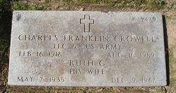 Ruth G Crowell