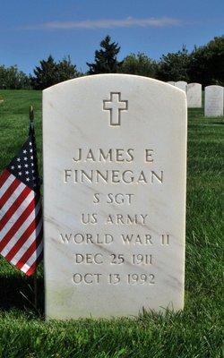 James E Finnegan