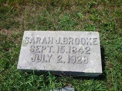 Sarah Jane <I>Talkington</I> Brooke