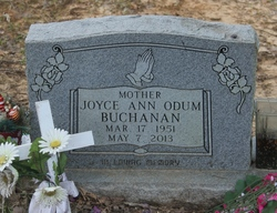 Joyce Ann <I>Odum</I> Buchanan