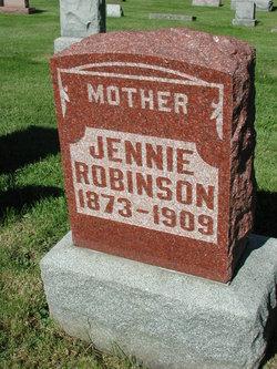 Jennie B <I>Bowman</I> Robinson