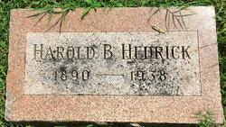 Dr Harold Bertrand Hedrick