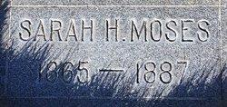 Sarah <I>Hansen</I> Moses