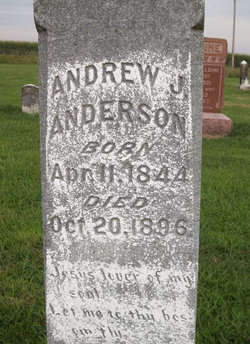 "Andrew J ""Andy"" Anderson"