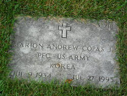 Marion Andrew Copas, Jr