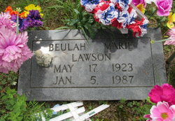 Beulah Marie <I>Nichols</I> Lawson