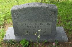 Shirley <I>Johnson</I> Weston