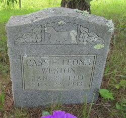 Cassie Leona Weston
