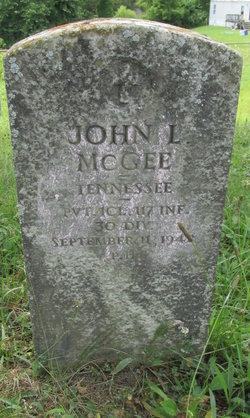 John L McGee