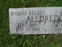 Rosena <I>Kelsey</I> Alldredge