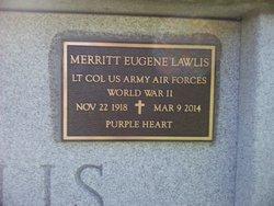"""Merritt Eugene """"Gene"""" Lawlis"""