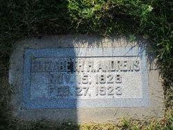 Elizabeth Harris <I>Lamb</I> Andrews