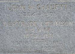Gertrude <I>Stimson</I> Chaufty