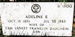 Adeline E Dahlheim