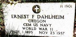 Ernest Franklin Dahlheim