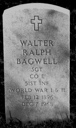 SGT Walter Ralph Bagwell
