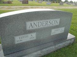Edith Amanda <I>Henderson</I> Anderson