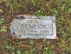 Cecil E Thompson
