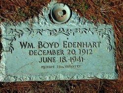 PFC William Boyd Edenhart