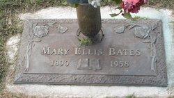 Mary <I>Ellis</I> Bates
