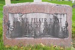 Jessie L. <I>Doud</I> Felker Hunt