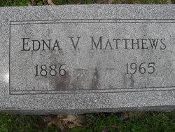Edna V Matthews