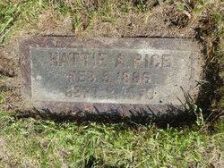 Hattie Ann <I>Welliver</I> Rice