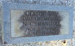 Corrie Ray Randall