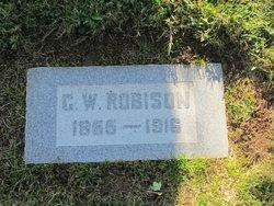 George W Robinson