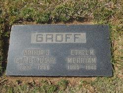 Ethel M. <I>Merriam</I> Groff