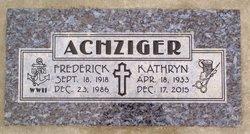 Frederick Achziger