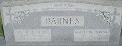 Rev John Nelson Barnes