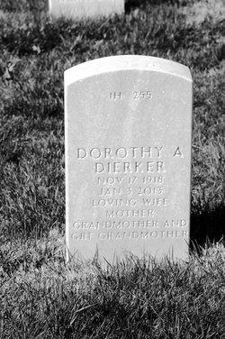 Dorothy A <I>Grotegeers</I> Dierker