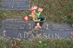 Mary Ellen <I>Wadding</I> Adamson