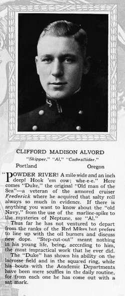 LCDR Clifford Madison Alvord