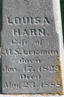 Louise <I>Harn</I> Lewman
