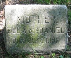 Mrs Ella <I>Russell</I> McDaniel
