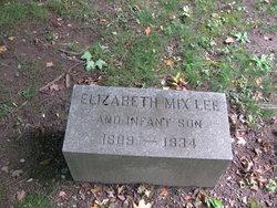 Elizabeth <I>Mix</I> Lee