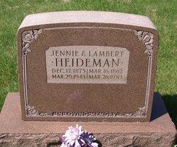 Jennie <I>Kaland</I> Heideman