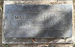 Marie C <I>Johnson</I> Peterson