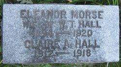 Eleanor Mae <I>Morse</I> Hall