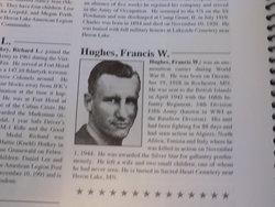 PFC Francis Willis Hughes