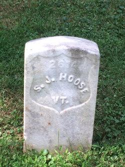 Pvt Sylvester J. Hoose