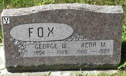 Rena M. <I>Goodwin</I> Fox