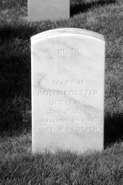 Mary <I>Mueller</I> Rosenkoetter