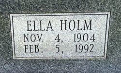 Ella <I>Holm</I> Hieronymus