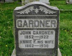 Annie F. <I>Coble</I> Gardner