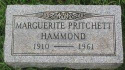 Marguerite <I>Pritchett</I> Hammond