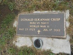 """Donald Elkanah """"Don"""" Crisp"""