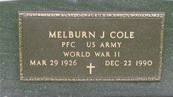 "Melburn J ""Lefty"" Cole"